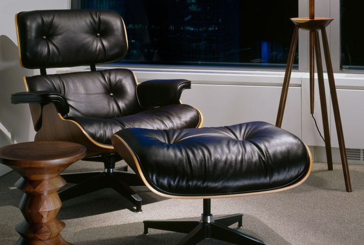 Eames Lounge Chair & Ottoman Premium Reproduction
