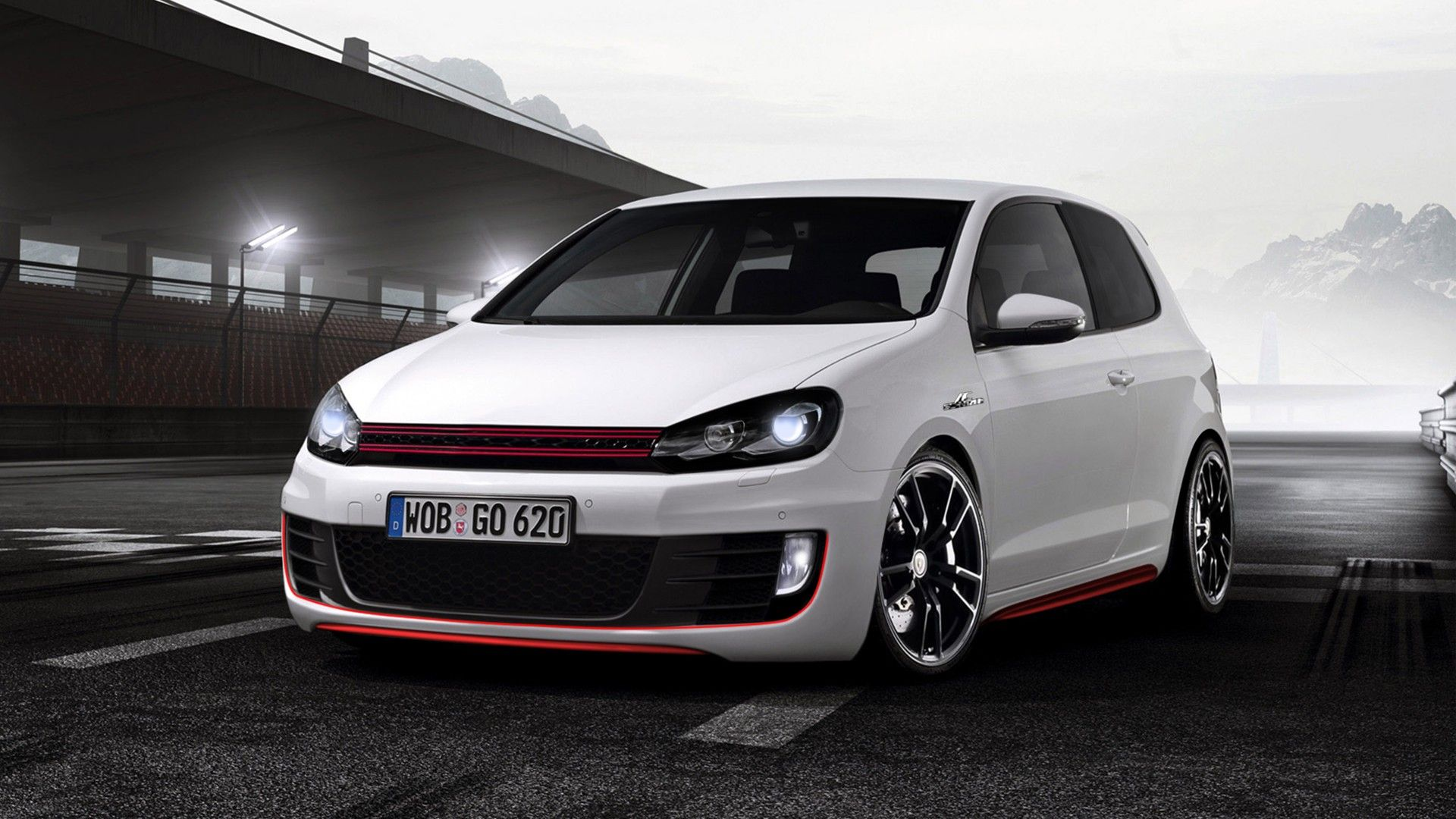 Volkswagen Golf Gti Sport Hd Picture Wallpaper Hd Car Wallpaper