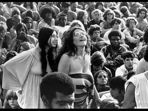 Joe Cocker..With a little help from my Friends....Woodstock 1969...Notice the lack of baby fat on these young people.