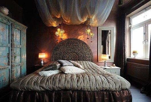 Ideas For Home Garden Bedroom: Small Bedroom Decorating Ideas Bohemian
