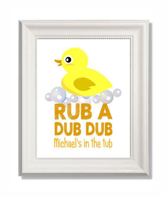 Custom listing for meredithhagan | Rubber duck, Printable wall art ...