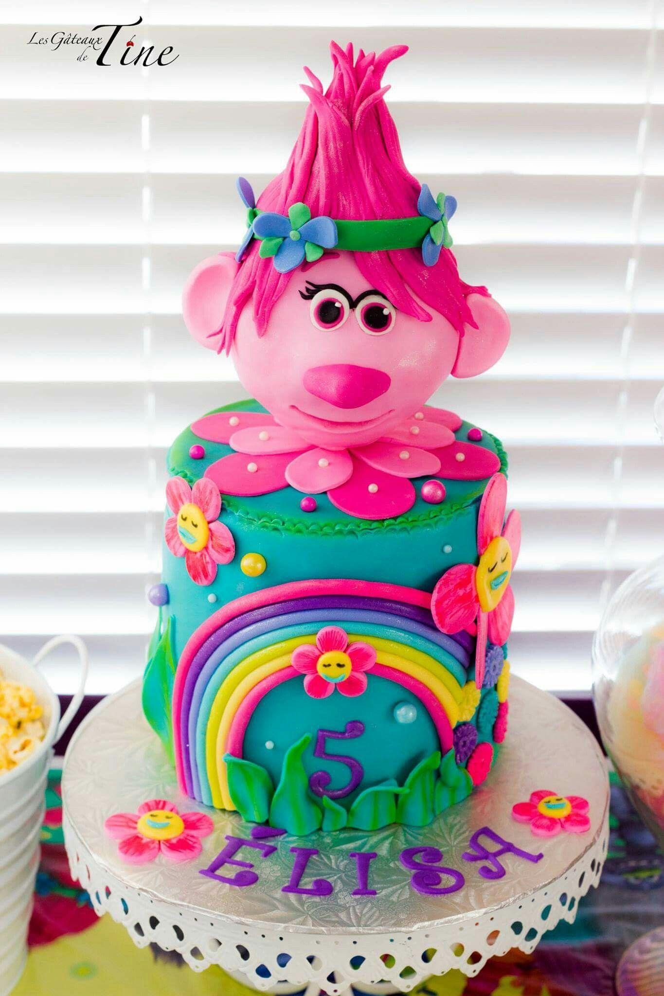 Cake Design Trolls : Trolls Cake Trolls Party Pinterest Cake, Troll party ...