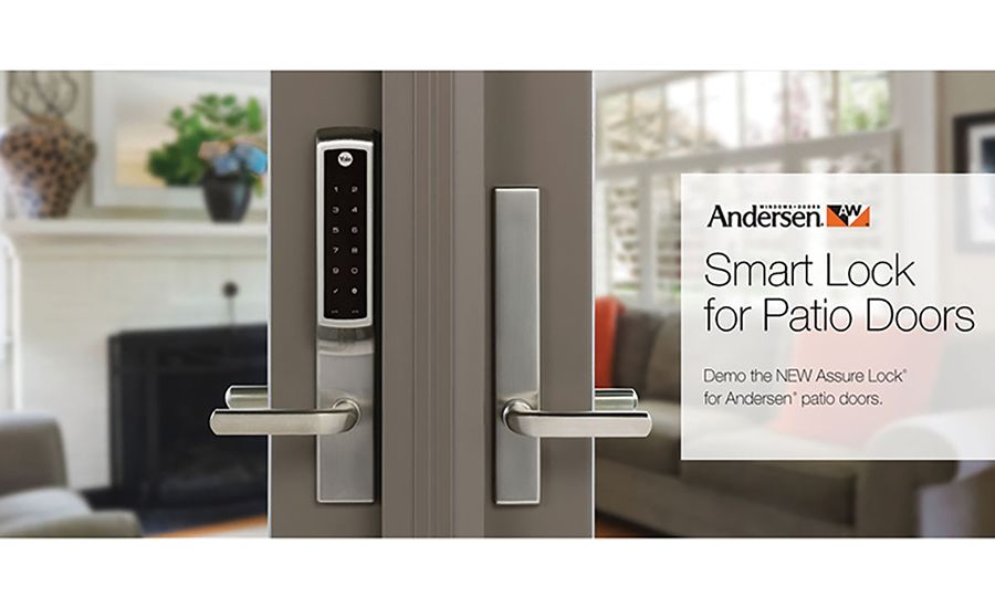 Smart Lock Is Designed Exclusively For Patio Doors Smart Lock Hinged Patio Doors Patio Doors