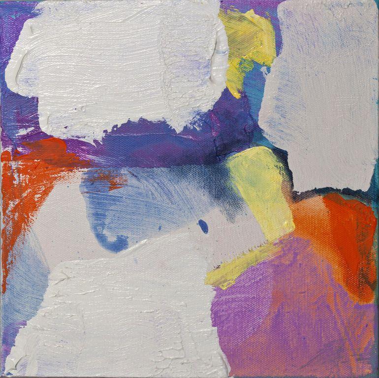 """Saatchi Online Artist: Claire Desjardins; Acrylic, 2010, Painting """"Little Ones # 10"""""""