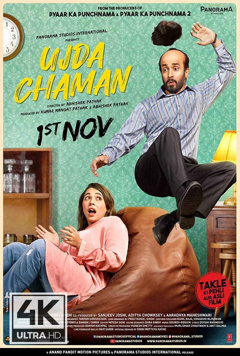 4k Ultra Hd Ujda Chaman 2019 Watch Download Ujda Chaman 2019 Top Comedy Movies Comedy Movies List Good Comedy Movies