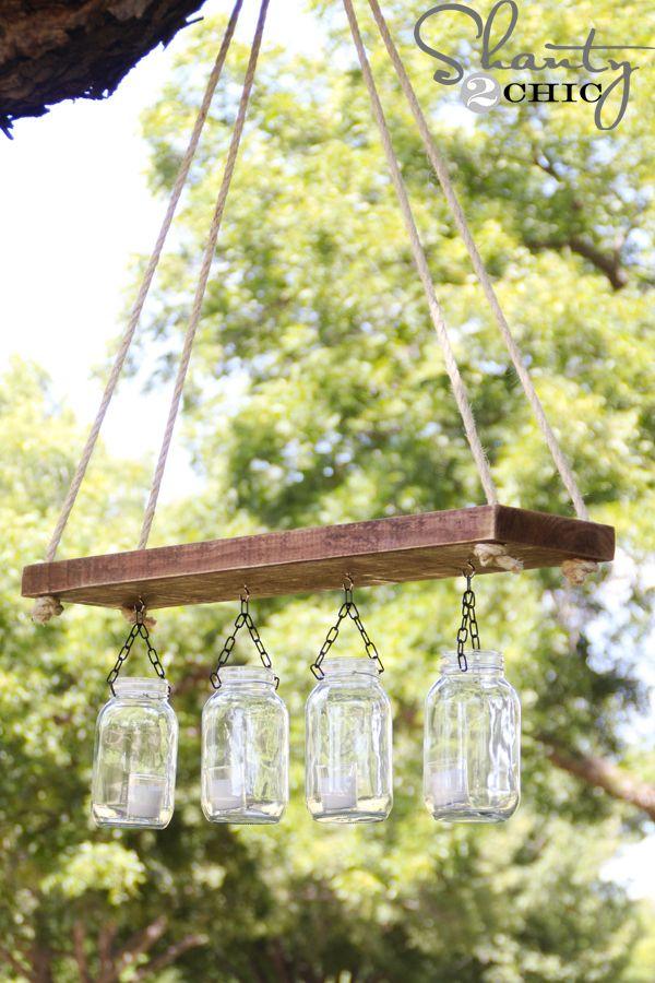 diy-Mason-Jar-Crafts-outdoor-chandelier