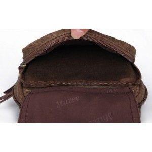 distressed mens canvas messenger bag