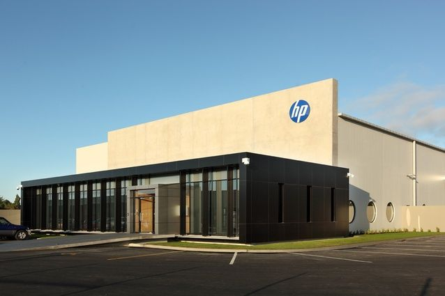 Hp building dakota park 46 ron guthrey road christchurch for Warehouse building design