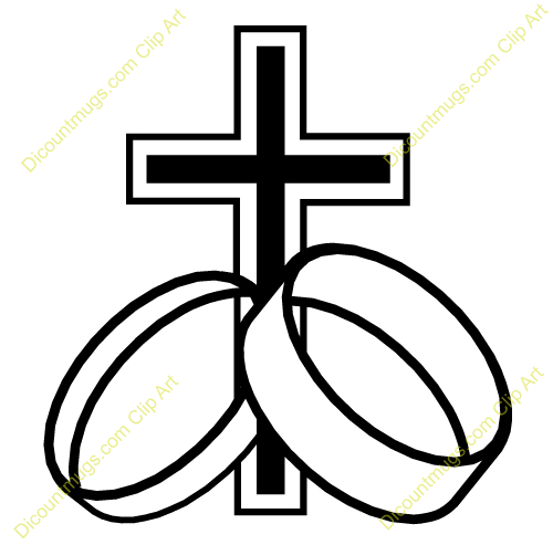 Christian Wedding Clipart Ring 12514