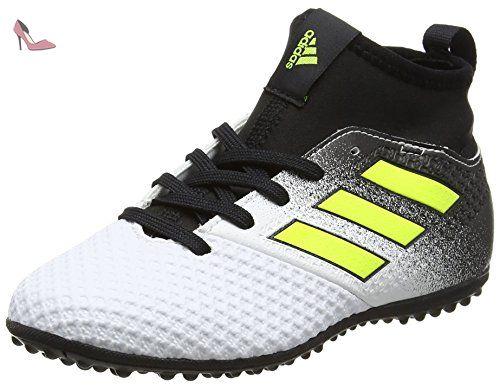 adidas Ace Tango 17.3 Tf, Chaussures de Football Mixte Enfant, Jaune  (Footwear White