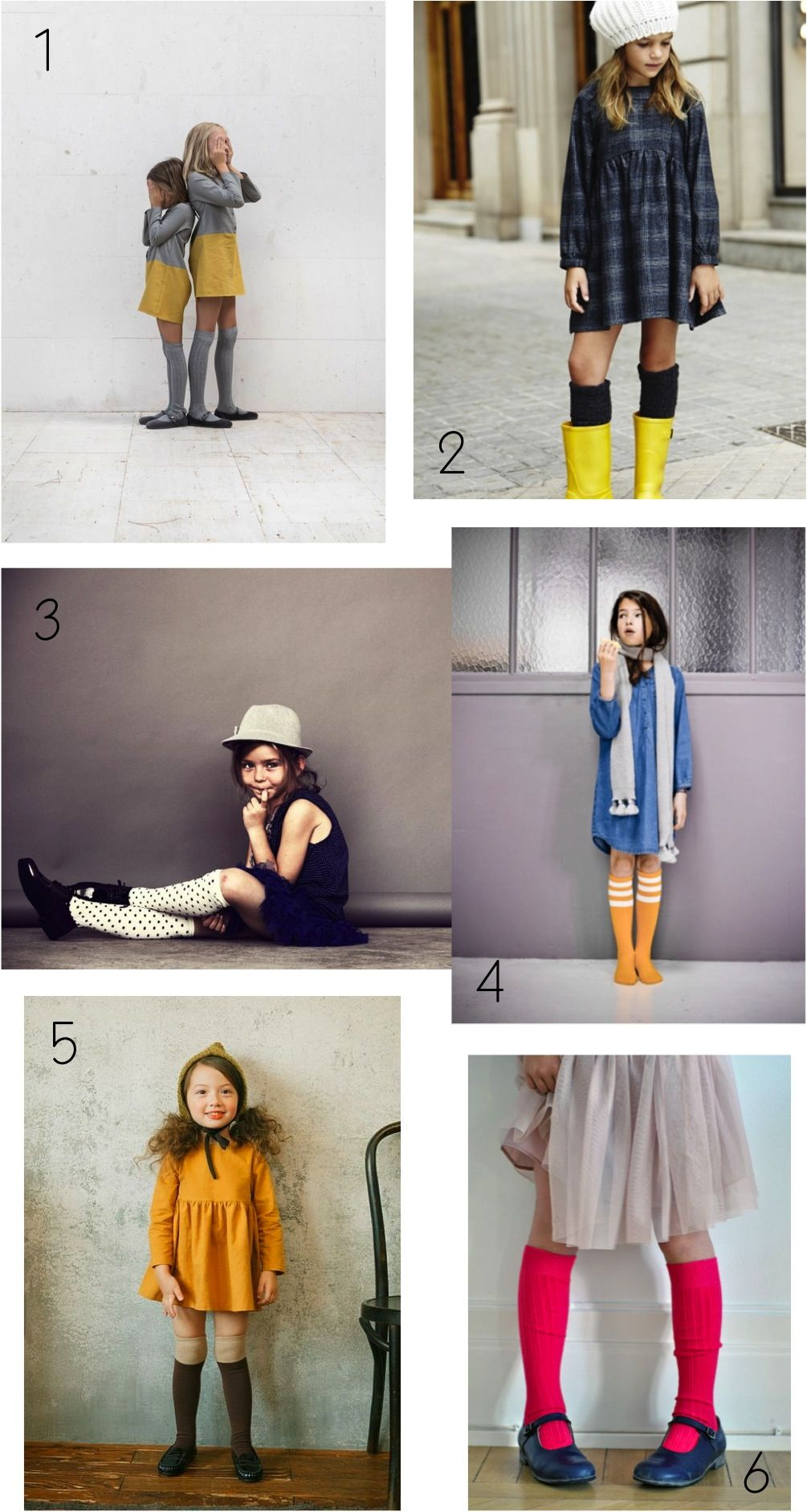 49116f2f473 Knee high socks look so great with skirts
