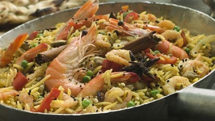 برياني الجمبري اللذيذ Recipe Indian Food Recipes Biryani Egyptian Food