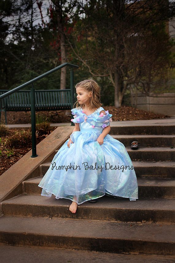 Cinderella Dress Cinderella Costume by pumpkinbabydesigns | Costumes ...