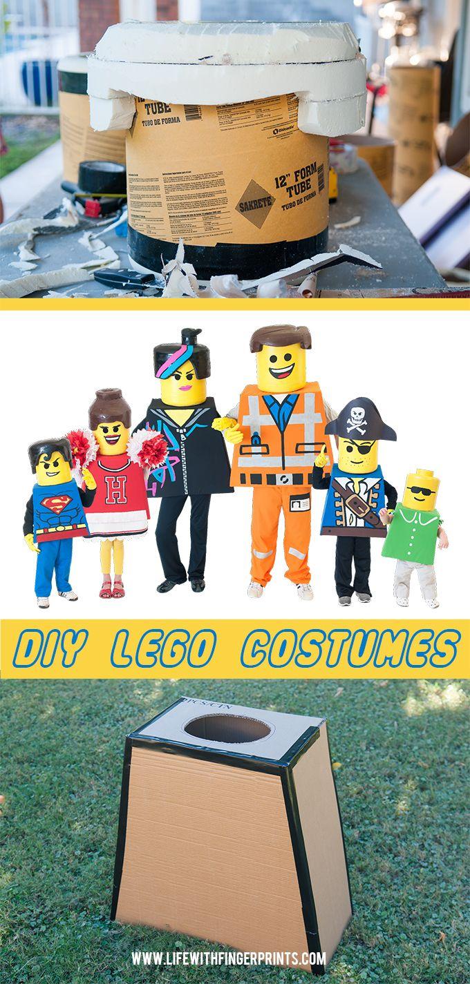 Diy lego costumes making lego bodies lego costume diy diy halloween lego costumes lego bodies and heads solutioingenieria Choice Image