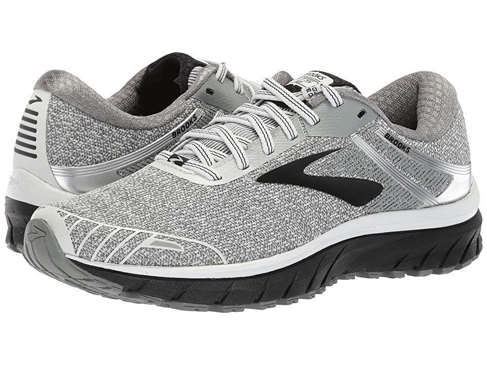 8b2e08cc328 Brooks Adrenaline GTS 18 (White Black Grey) Women s Running Shoes. With