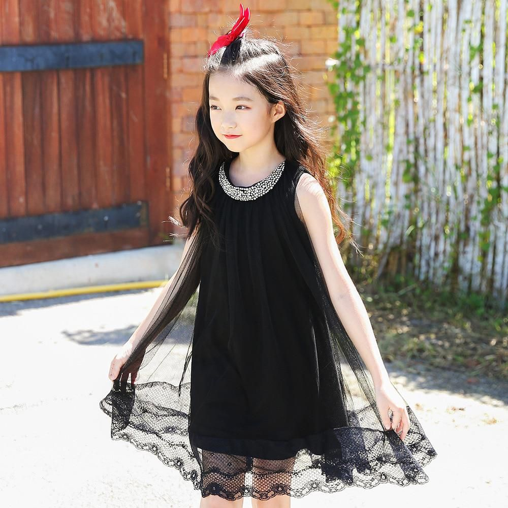 a1b8de5d932b Little girl dresses summer 2018 teenage girls clothing big girls dressses kids  dress size 4 5 6 7 8 9 10 11 12 13 14 15 years. Yesterday s price  US   18.88 ...
