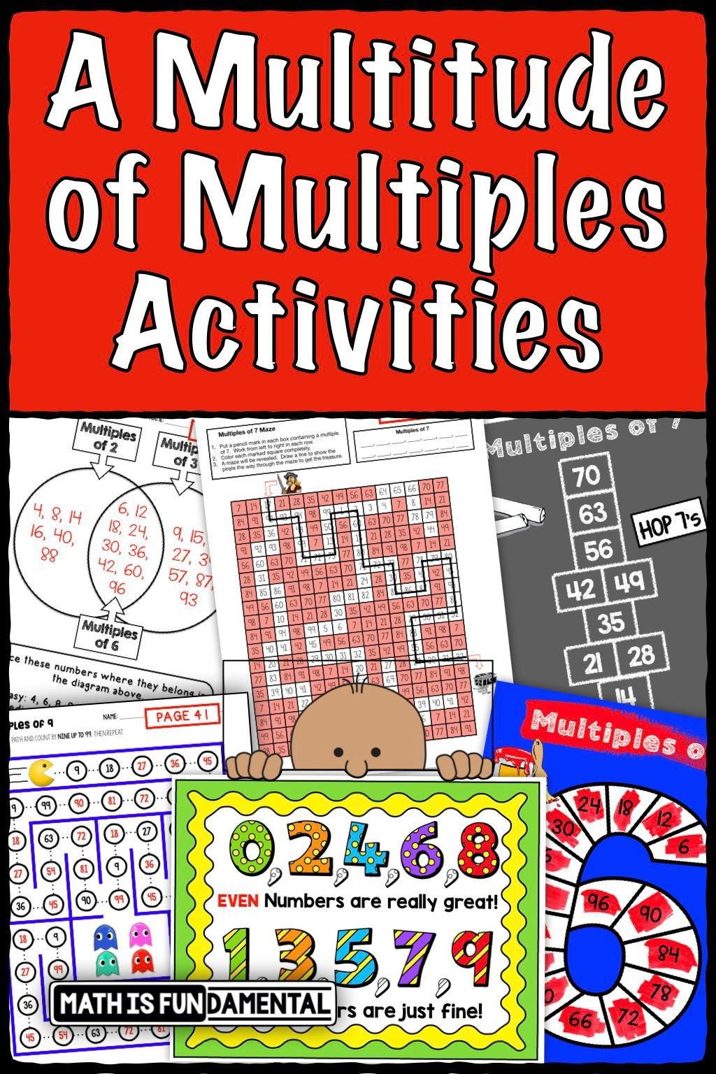 Multiples Worksheets And Activities