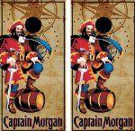 "Captain Morgan Wrap set, 2 decals 24"" x 48"" for cornhole baggo bag toss boards:Amazon:Home & Kitchen"