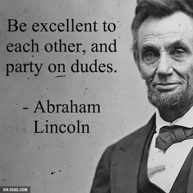 A True Inspiration Ted Quotes Abraham Lincoln Movie Quotes