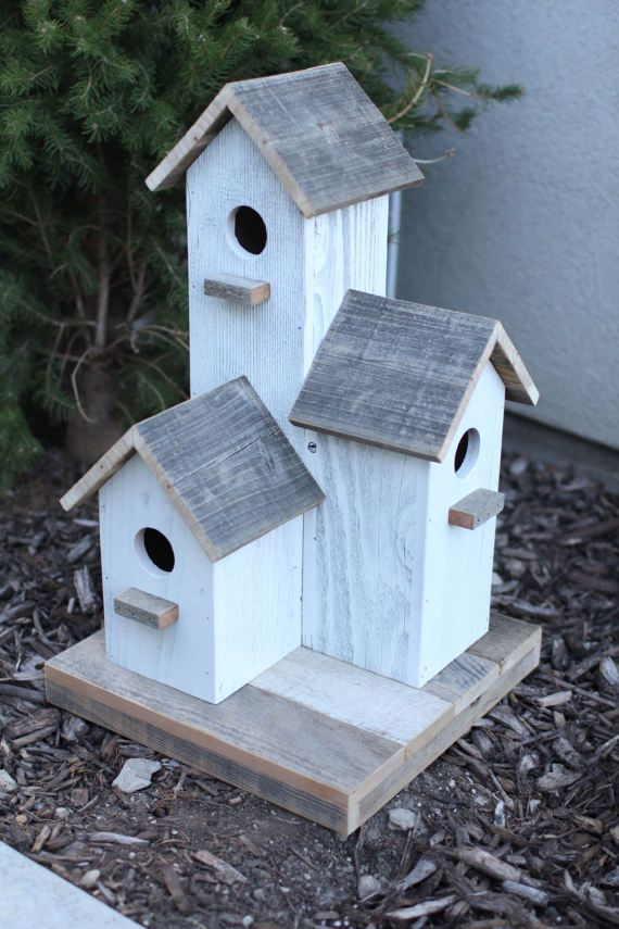 Barnwood Birdhouse Bird houses Birdhouse