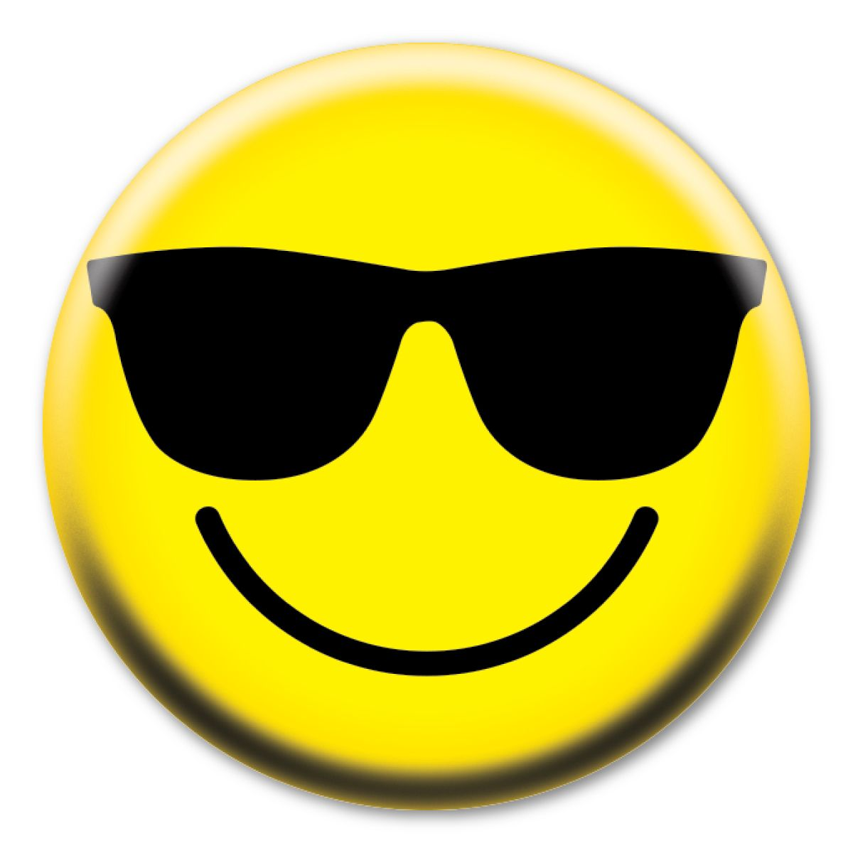 Magnet America Smiley Face With Shades Circle Button 2 49 Https Magnetamerica Com Smiley Face With Whatsapp Funny Pictures Funny Profile Pictures Smiley
