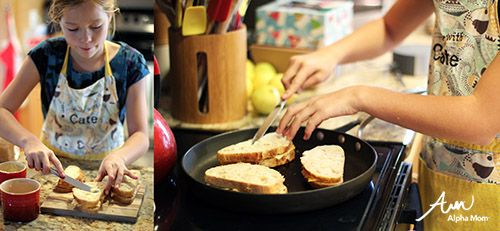 Grilled Cheese |Recipes Kids Should Know How To Cook Before Leaving Home (directions) by Jane Maynard for Alphamom.com
