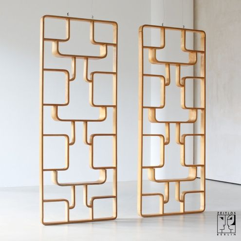 mid century room divider 1600 each last seen for sale