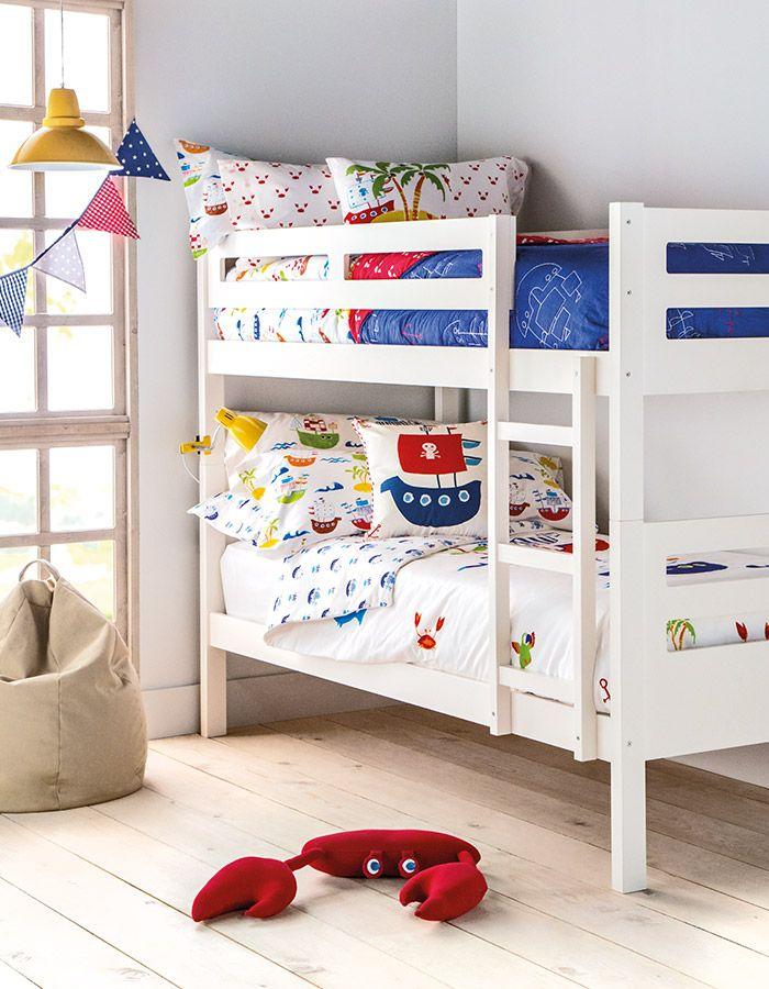 Mini home el corte ingl s dormitorio infantil cn literas for Dormitorios infantiles el corte ingles