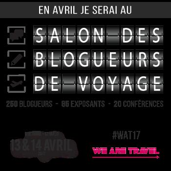 En avril 2017 je participe au salon des blogueurs de voyage qui aura lieu sur 2 jours à Saint-Malo en Bretagne