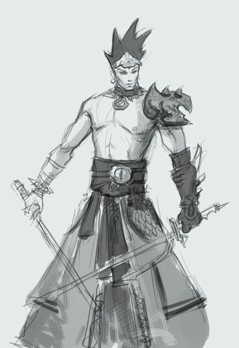 Drawing Step By Male Man Character Design For Manga Comics
