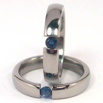 13.5 Women Ring Size Gemini Groom /& Bride 18K Gold Filled Anniversary Wedding Titanium Rings Set Width 6mm /& 4mm Men Ring Size 6.5