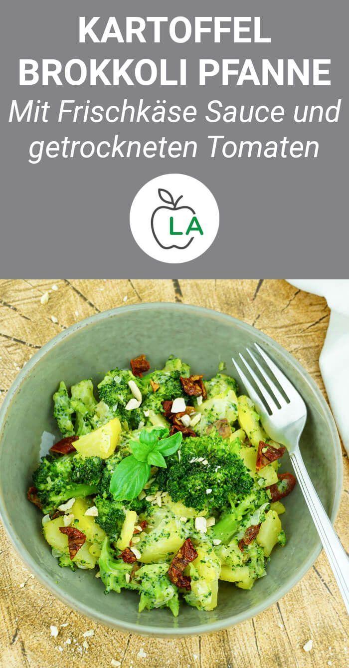 Kartoffel Brokkoli Pfanne - Vegetarisches und kalorienarmes Rezept, #Brokkoli #HealthyFoodfi...