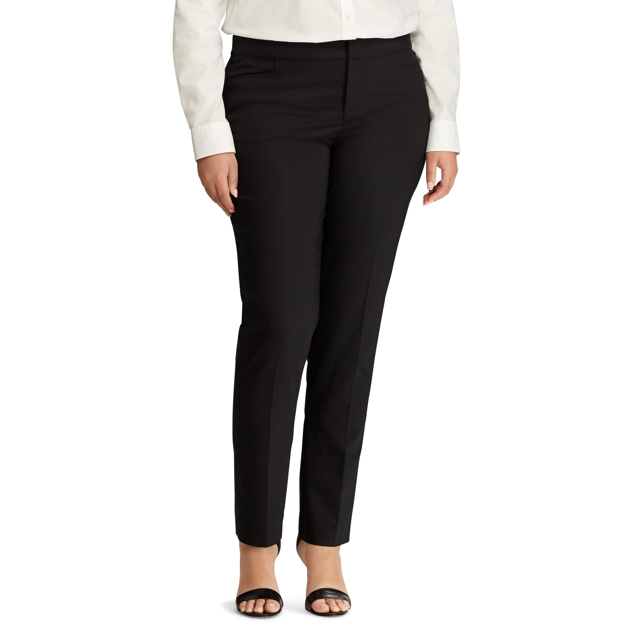 1cf555c123baa9 Plus Size Chaps Solid Straight-Leg Pants | Bullet journal ideas in ...