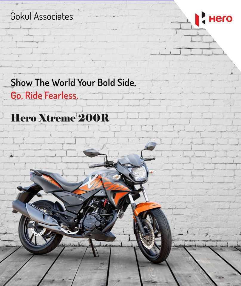 Show The World Your Bold Side Go Ride Fearless With Hero Xtreme