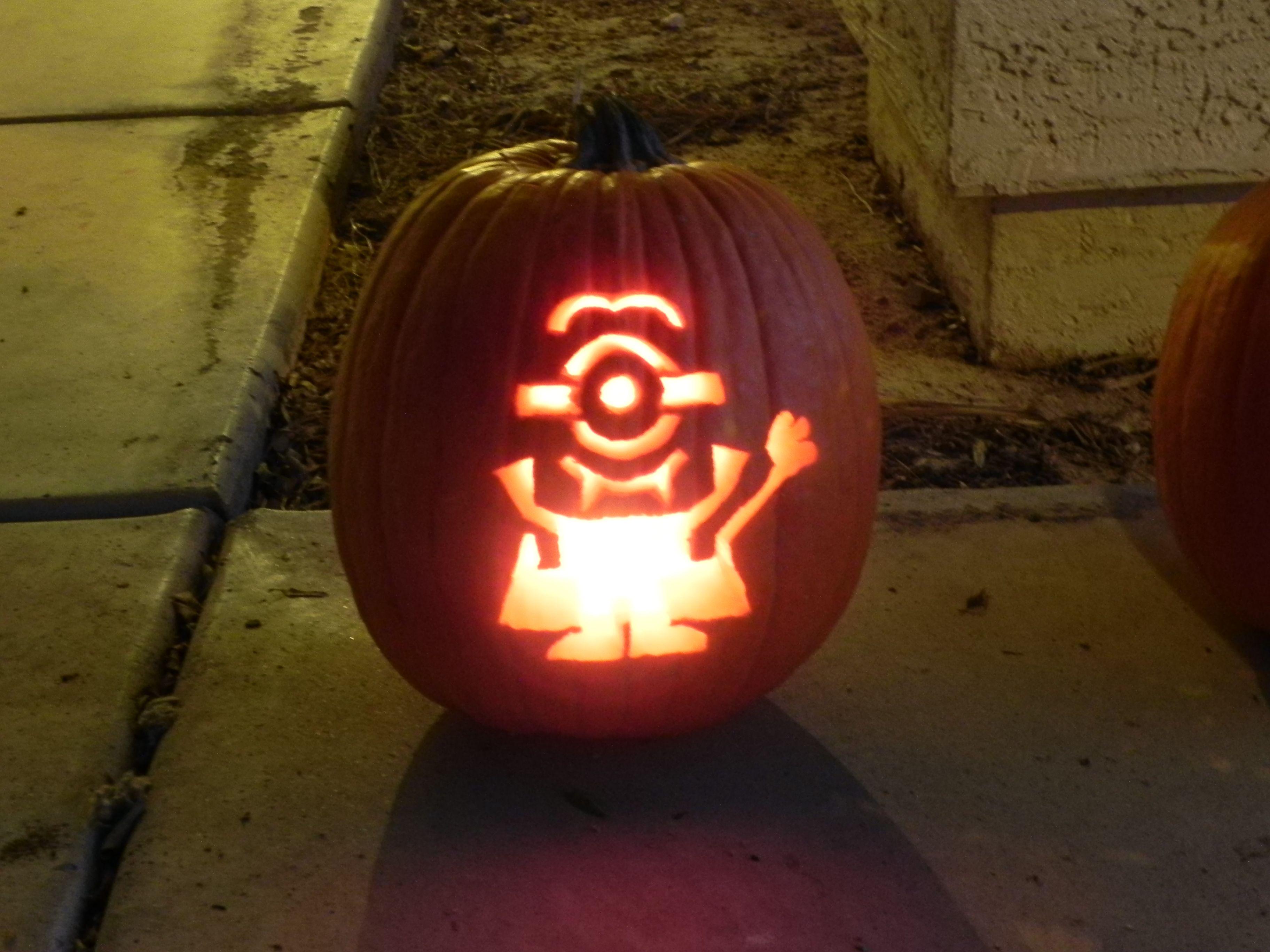vampire minion pumpkin things i ve made vampire pumpkin rh pinterest com