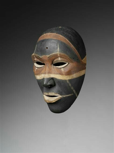 masque africain jacques chirac