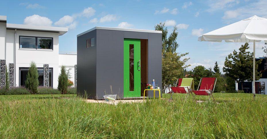 Fresh Schw rer Gartenhaus aus Holz im Bausatz f r individuelles Garten Design Schwoerer Gartenhaus