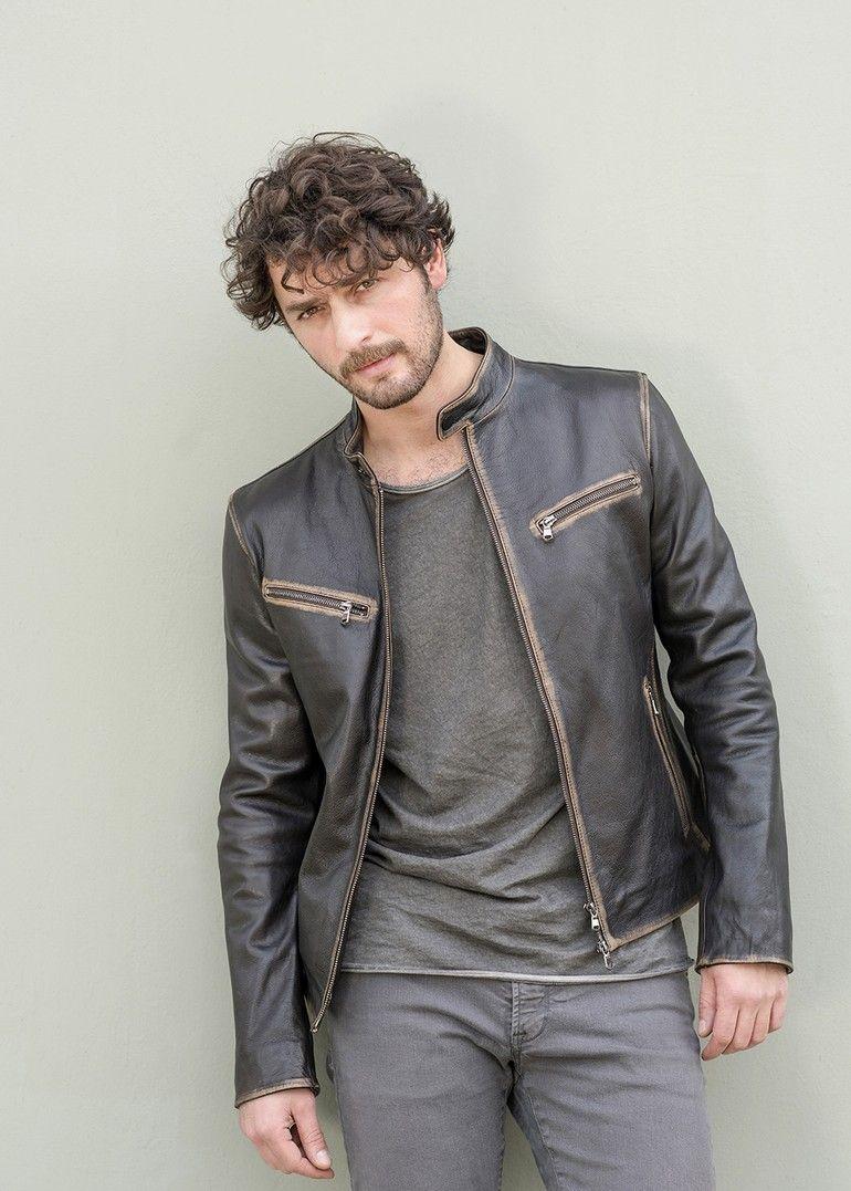 Birkan Sokullu Leather Jacket Leather Jacket Men Jackets [ 1077 x 770 Pixel ]
