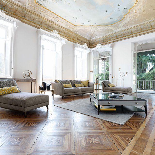 canap gris l 39 ind modable qu 39 on adore livingroom. Black Bedroom Furniture Sets. Home Design Ideas