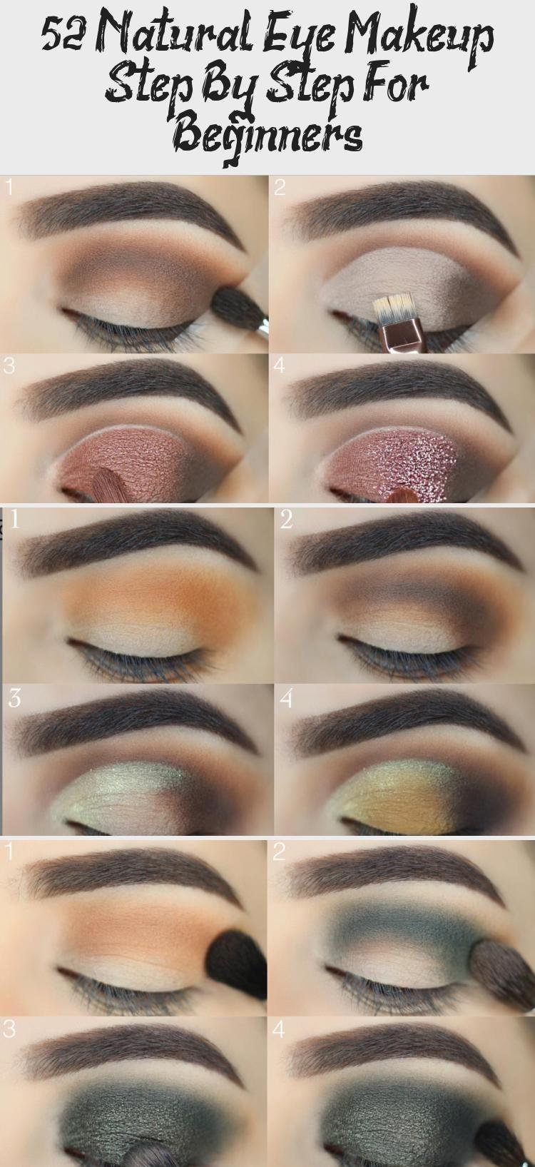 Easy eye makeup tutorial step by step for beginners eye makeup looks ideas mak R…