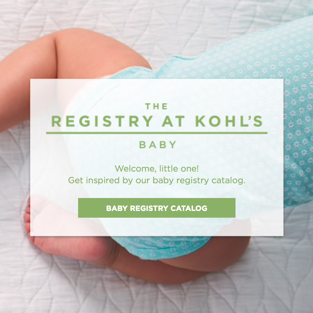 Kohl's Baby Registry, Best Baby Registries, Baby Shower