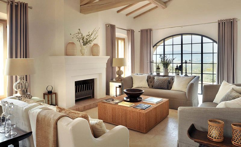 Inspiring modern italian villa interior design inspiration for Nice living rooms