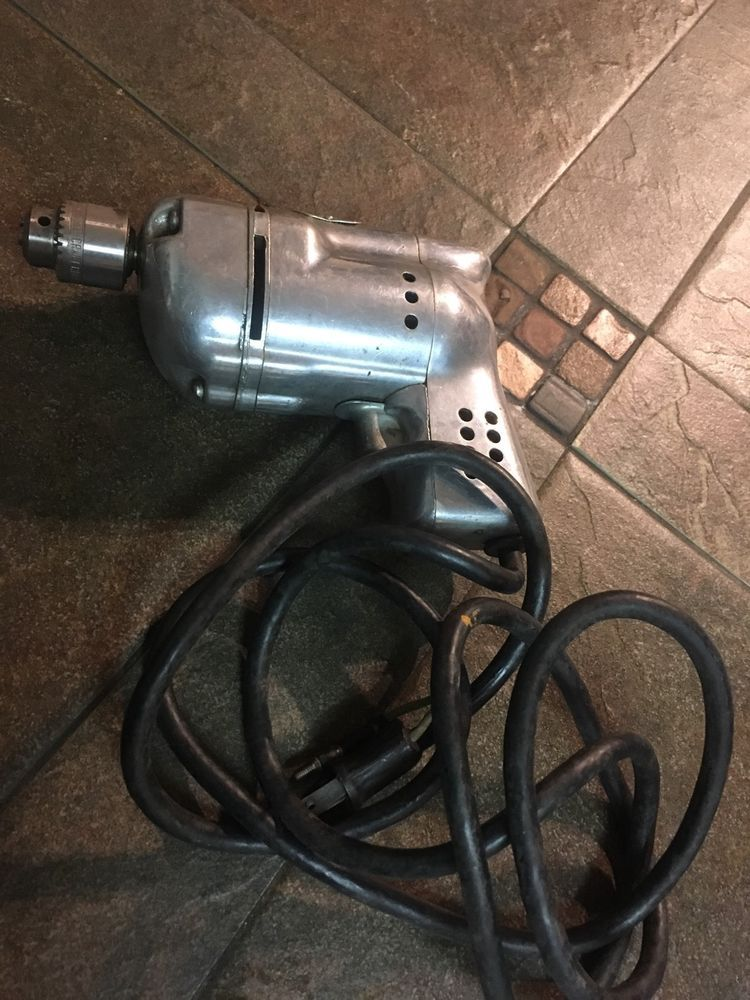 vintage emerson electric motor hp rpm model ks cxud vintage 1957 black and decker electric drill 1 4 model u 3 power tool works