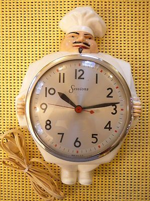 Admirable Details About Vintage 1950S Kitchen Electric Wall Clock Home Interior And Landscaping Transignezvosmurscom
