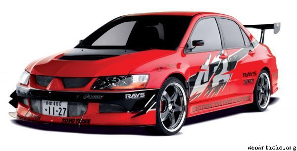 Mitsubishi Lancer Evolution from Fast and Furious Tokyo Drift ...