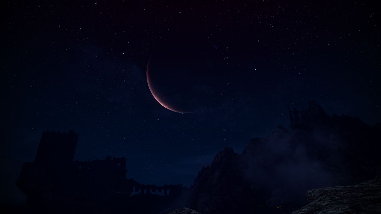 Winterhold - a clear night - JungSoo10   Skyrim Pictures