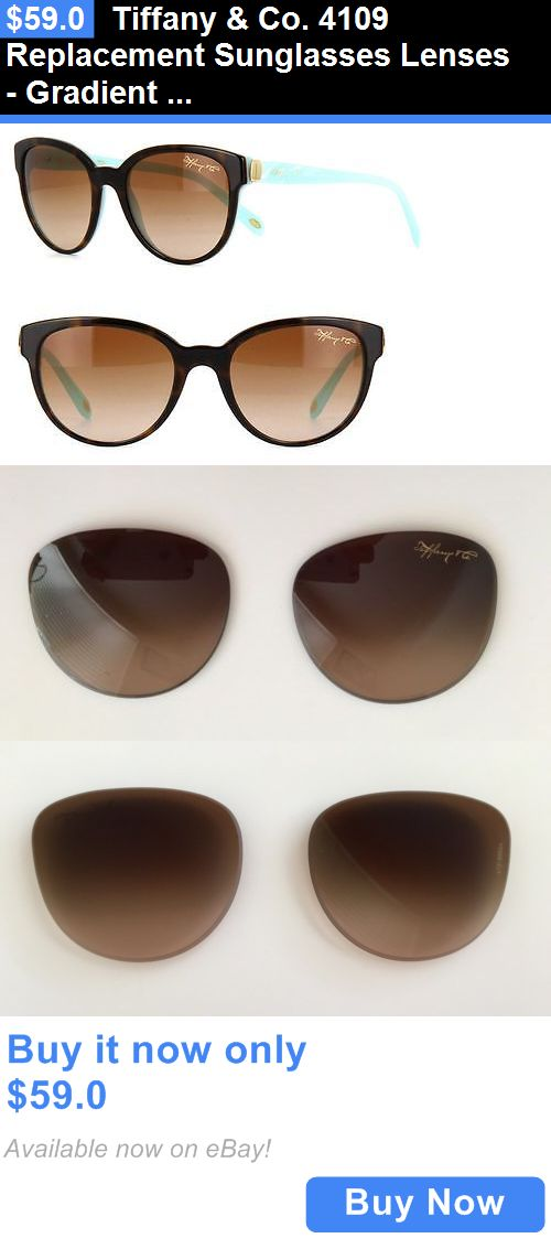 e14d98633f9e Replacement Lenses  Tiffany And Co. 4109 Replacement Sunglasses Lenses - Gradient  Brown M