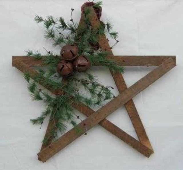 Stella Di Natale Legno.Decorazioni Natalizie Per Esterno Natale Decorazioni Natalizie