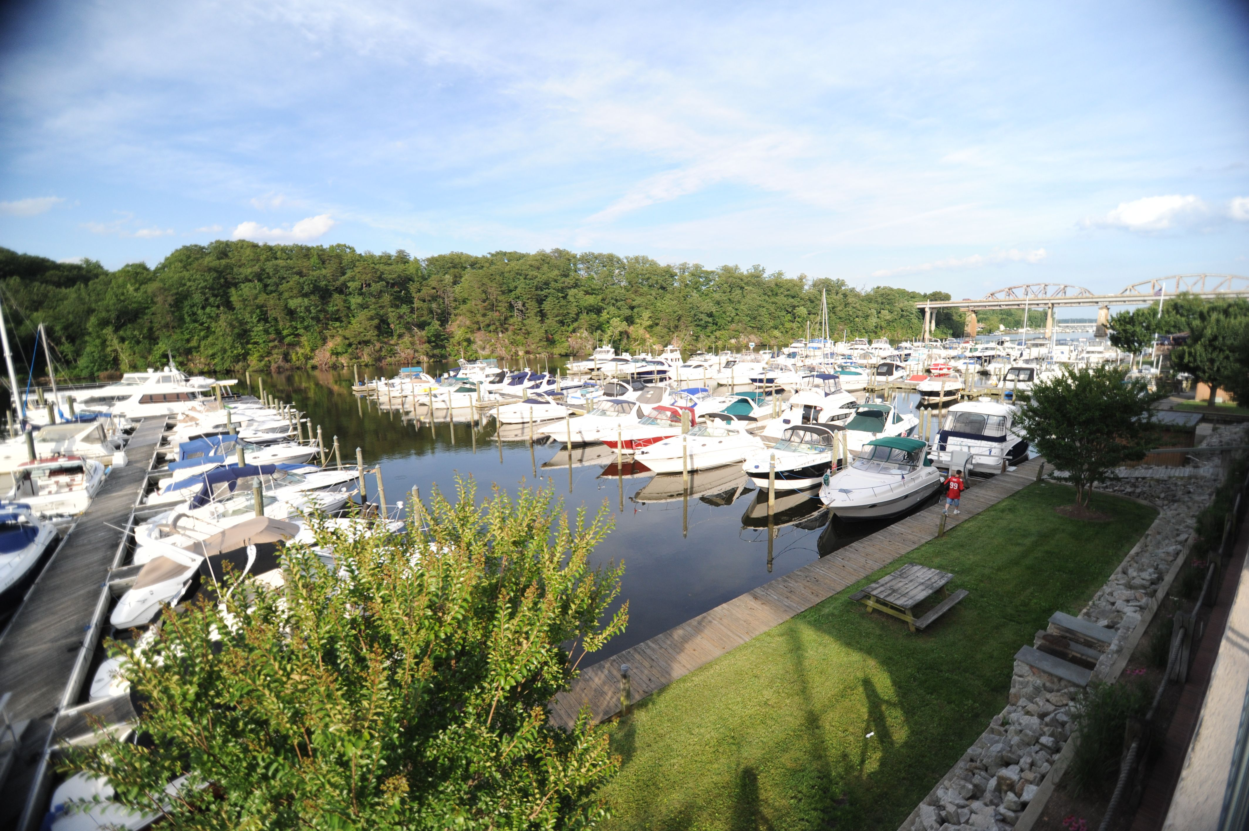Another Balcony View Of The Marina Occoquan Harbour Marina