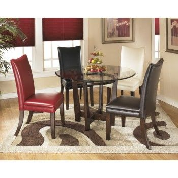 Charrell Round Dining Room Table 180 At Pricebusters Round
